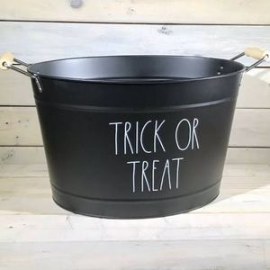 Rae Dunn metal trick or treat bucket/New release